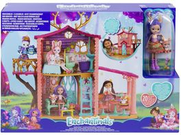 Mattel Enchantimals Spielhaus Set Reh
