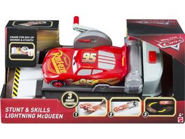 Mattel Disney Cars Stunt Champion Lightning McQueen
