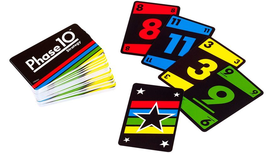Mattel Games Phase 10 Strategy Brettspiel