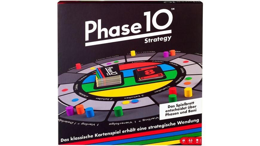 Mattel Games Phase 10 Strategy Brettspiel, Gesellschaftsspiel, Familienspiel