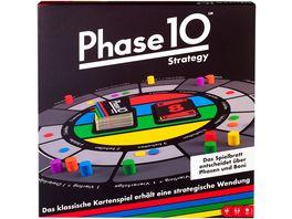 Mattel Games Phase 10 Strategy Brettspiel Gesellschaftsspiel Familienspiel