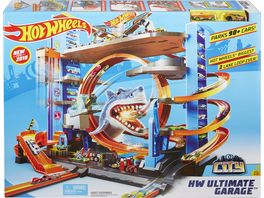 Mattel Hot Wheels City Ultimative Garage mit Hai Angriff