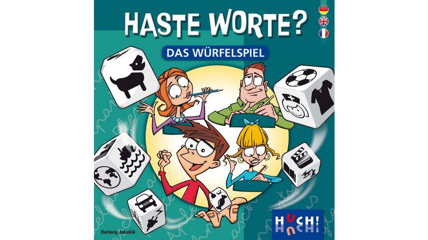 Huch Verlag Haste Worte Das Wuerfelspiel