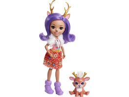 Mattel Enchantimals Rehmaedchen Danessa Puppe