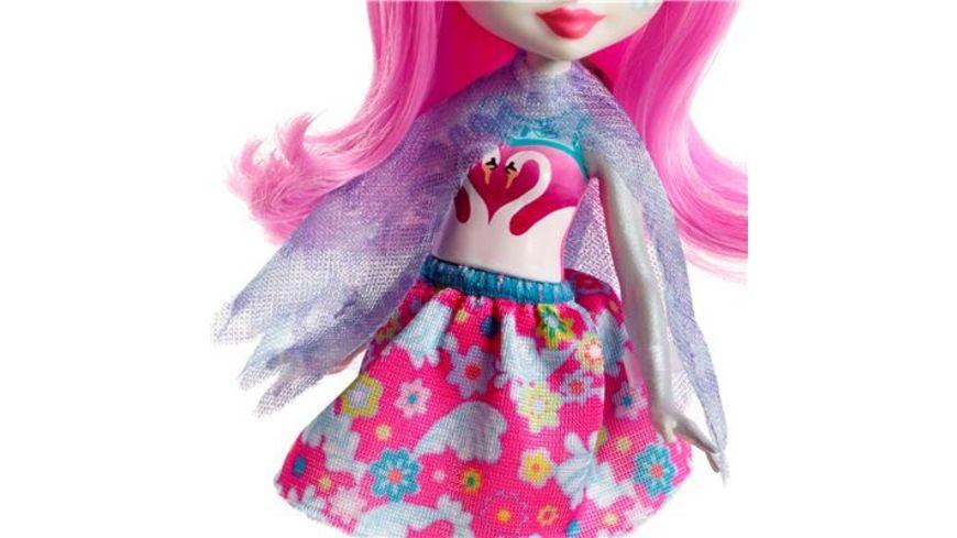 Mattel Enchantimals Schwanenmaedchen Saffi Swan Puppe
