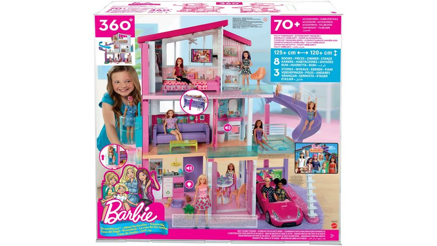 Mattel Barbie Barbie Traumvilla
