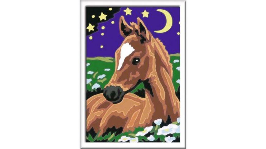 Ravensburger Spiel Malen nach Zahlen Atelier Pferde