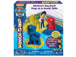Spin Master Kinetic Sand Paw Patrol Character Play Set