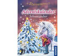 KOSMOS Sternenschweif Adventskalender Schneezauber Mit Extra