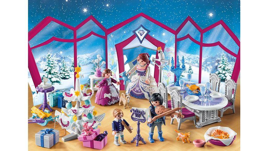 PLAYMOBIL 9485 Christmas Adventskalender Weihnachtsball im Kristallsaal