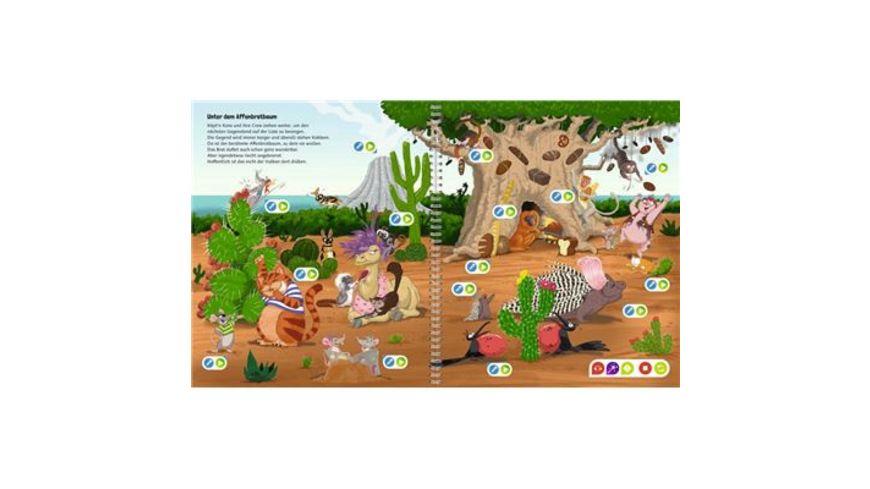 Ravensburger Buch tiptoi Create Die magische Insel der Tiere