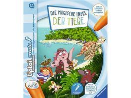Ravensburger tiptoi Create Die magische Insel der Tiere