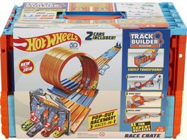 Mattel Hot Wheels Track Builder Mega Rennbox