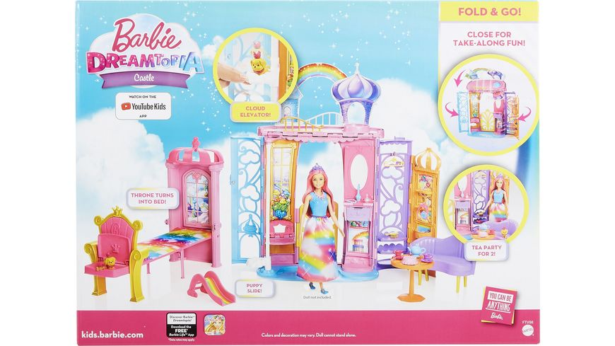 Mattel Barbie Dreamtopia Regenbogen Koenigreich Schloss