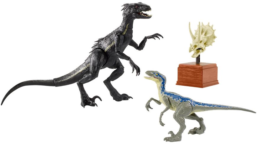 Mattel Jurassic World Battle Damage Lockwood