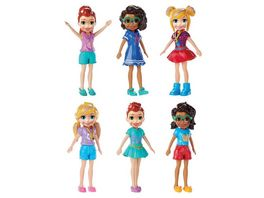 Mattel Polly Pocket Puppen Sortiment im Thekendisplay