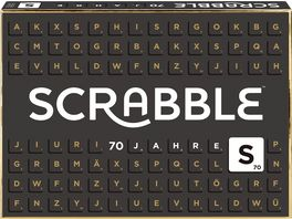 Mattel Games Scrabble 70 Jahre Jubilaeumsedition