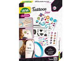 Lena Fashion Tattoos Star