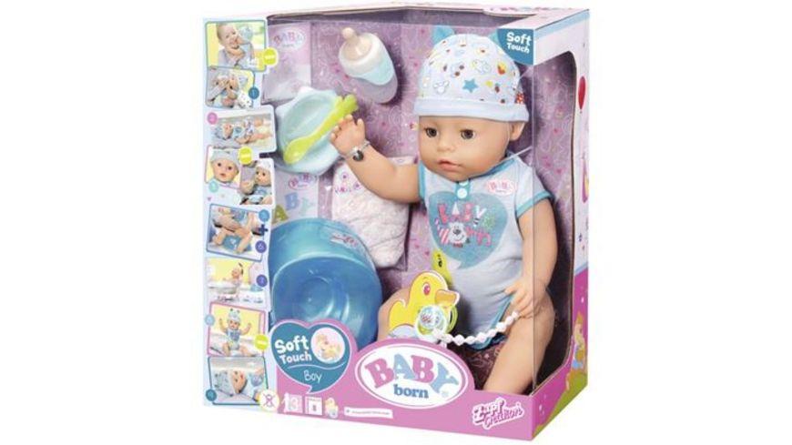 Zapf Creation Baby born Soft Touch Boy