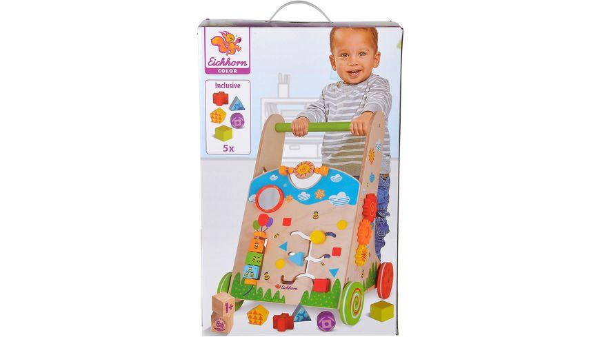 e236d7951b9460 Eichhorn - Color Spiel- und Lauflernwagen online bestellen