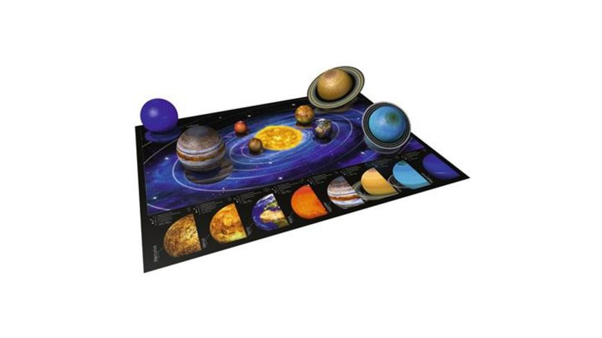 Ravensburger Spiel 3D puzzleball Planetenbox 27 54 72 108 Teile