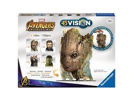 Ravensburger Beschaeftigung 4S Vision Avengers Infinity War Groot und Co