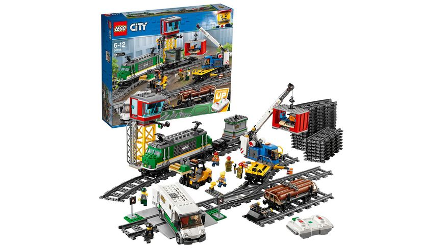 LEGO City Trains 60198 Gueterzug