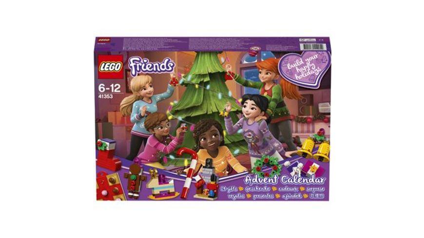 LEGO Friends 41353 Adventskalender mit Weihnachtsschmuck