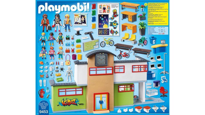 PLAYMOBIL 9453 City Life Grosse Schule mit Einrichtung