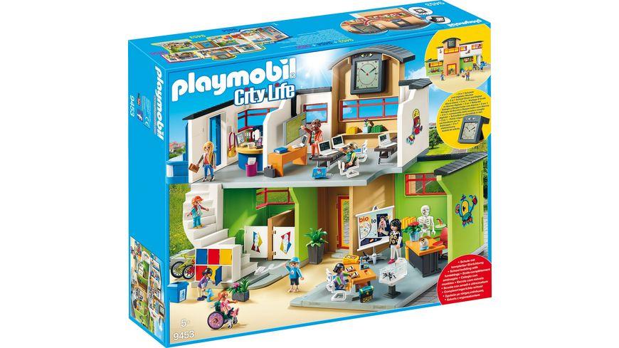 Playmobil 9453 City Life Grosse Schule Mit Einrichtung Online