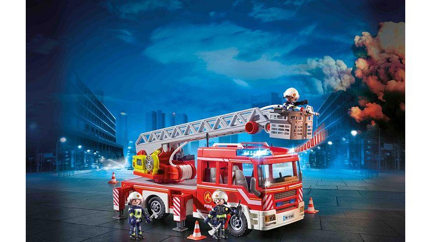 PLAYMOBIL 9463 City Action Feuerwehr Leiterfahrzeug