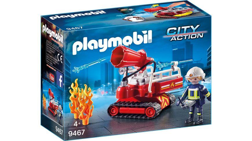 PLAYMOBIL 9467 City Action Feuerwehr Loeschroboter