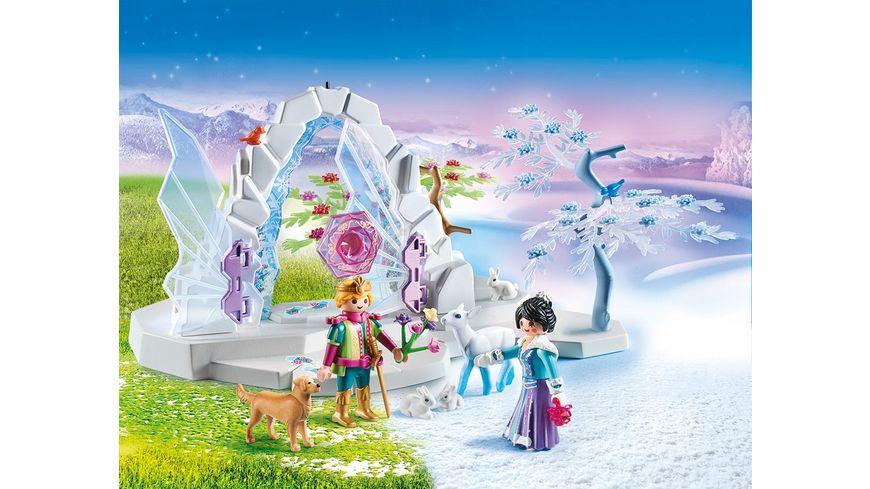 PLAYMOBIL 9471 Magic Kristalltor zur Winterwelt