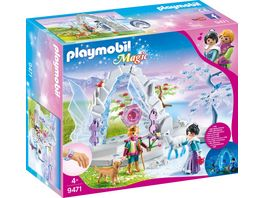 PLAYMOBIL 9471 Magic Kristalltor zur Winterwelt
