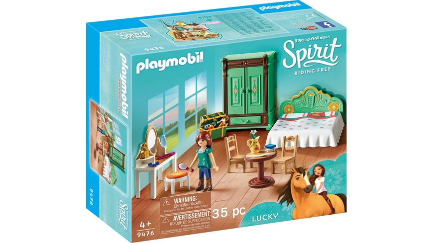 PLAYMOBIL 9476 Spirit Riding Free Luckys Schlafzimmer