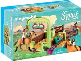 PLAYMOBIL 9478 Spirit Riding Free Pferdebox Lucky und Spirit