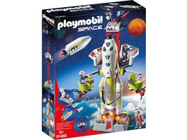 PLAYMOBIL 9488 Space Mars Rakete mit Startrampe
