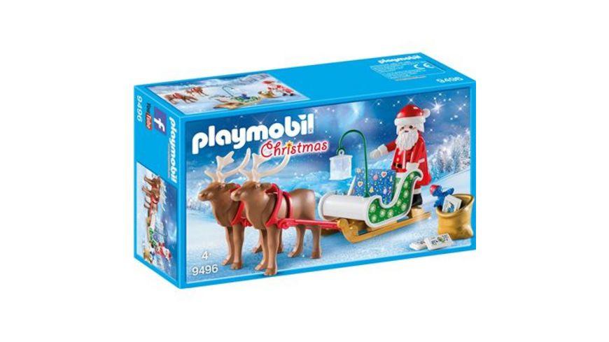 PLAYMOBIL 9496 Christmas Rentierschlitten