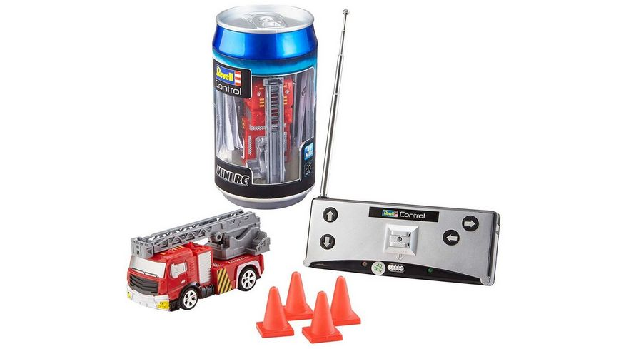 Revell Control Mini RC Car Fire Truck