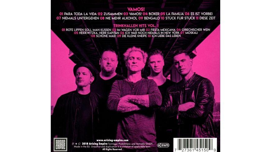 VAMOS Ltd CD mit Trinkhallen Hits Bonus CD