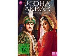 Jodha Akbar Die Prinzessin und der Mogul Box 9 Folge 113 126 3 DVDs