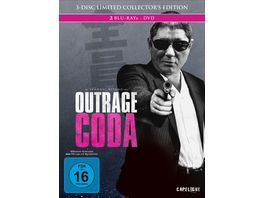 Outrage Coda 3 Disc Limited Collector s Edition im Mediabook DVD Bonus Blu ray