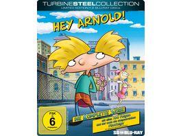 Hey Arnold Die komplette Serie LimitierteTurbine Steel Collection SD on Blu ray 2 BRs