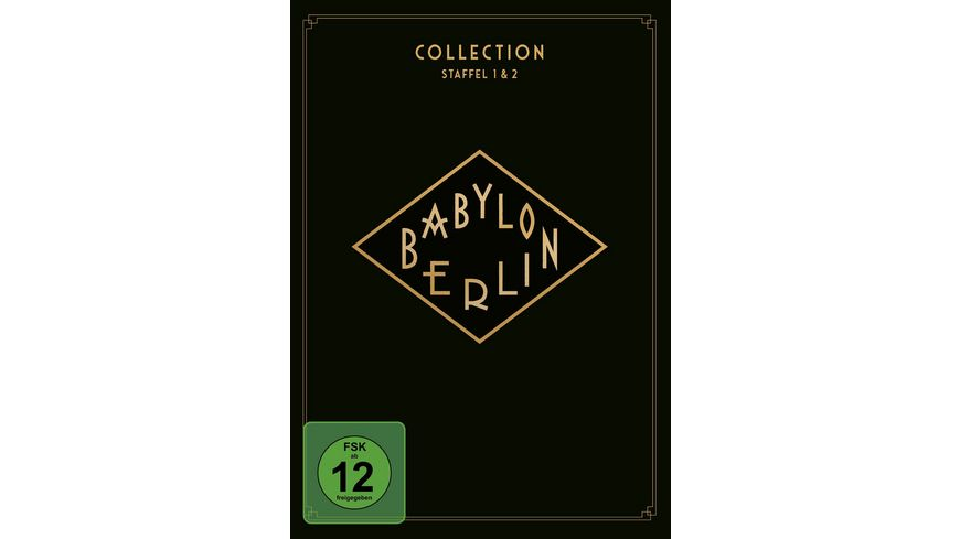 Babylon Berlin Collection Staffel 1 2 4 DVDs