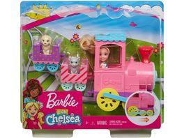 Mattel Barbie Chelsea Abenteuerzug und Puppe