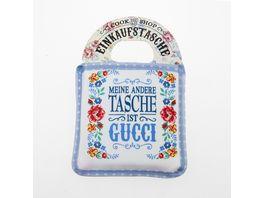 Einkaufstasche Meine andere Tasche ist Gucci