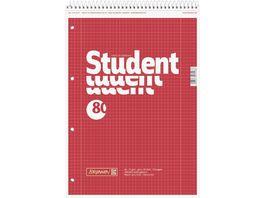 BRUNNEN Collegeblock Linkshaender A4 lin 28 Prem