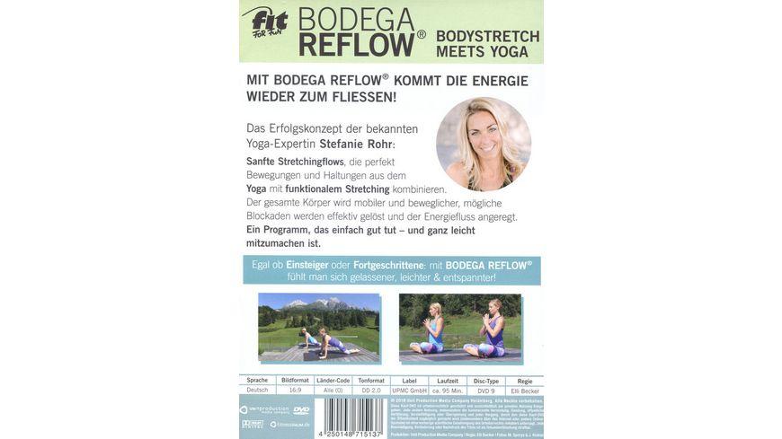 Fit For Fun Bodega Reflow Bodystretch meets Yoga
