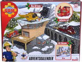 Simba Feuerwehrmann Sam Sam Adventskalender 2018