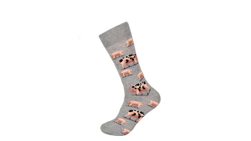 HOTSOX Herren Socken PIGS